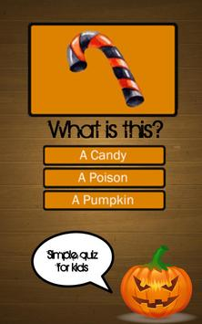 halloween quiz for kids apk screenshot - Halloween Quiz For Kids
