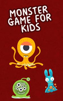 Monster Game for Kids poster