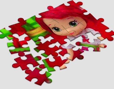 Jigsaw for Strowberry Shortcake screenshot 2
