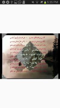 ليس الغريب غريب الشام واليمني screenshot 4