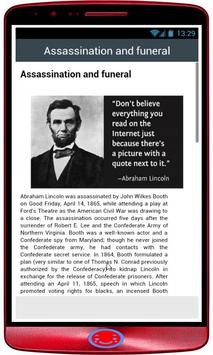 Abraham Lincoln History poster