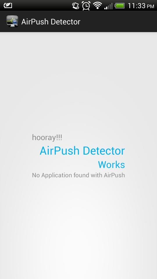 New Airpush Detector for Android - APK Download