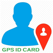 GPS ID Card icon