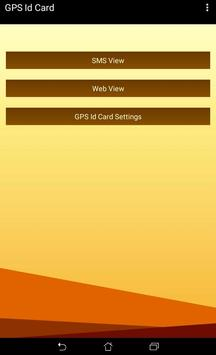GPS ID Card screenshot 1