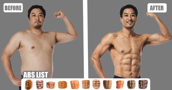 Six Pack Abs Photo Editor poster