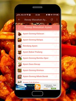 Resep Masakan Ayam screenshot 1