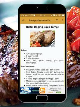 Resep Masakan Daging poster