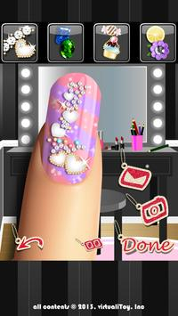 Glitter Nail Salon: Girls Game by Dress Up Star apk screenshot