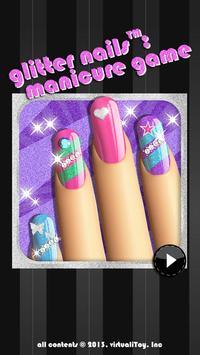 Glitter Nail Salon: Girls Game screenshot 3