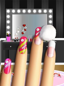 Glitter Nail Salon: Girls Game screenshot 5