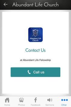 Abundant Life Church apk screenshot