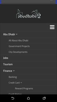 Abu Dhabi City App apk screenshot