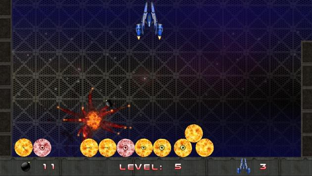 Eye Monster Invasion (free) apk screenshot