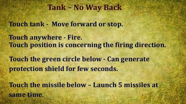 Tank – No Way Back (free) poster