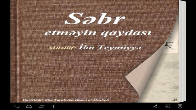 Səbr etməyin qaydası poster