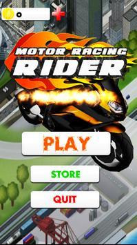 Motor Racing 3D 2018 poster