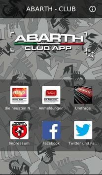 ABARTH - CLUB poster