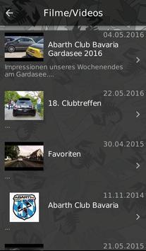 ABARTH - CLUB screenshot 2