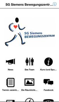 SG Siemens Bewegungszentrum poster