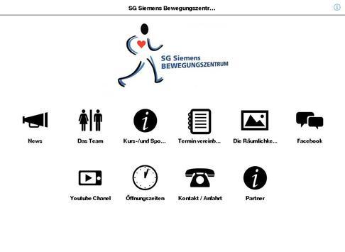 SG Siemens Bewegungszentrum apk screenshot