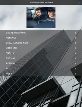Limousinenservice München apk screenshot