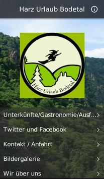 Harz Urlaub Bodetal poster