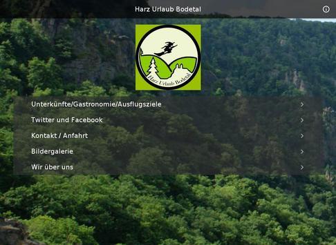 Harz Urlaub Bodetal screenshot 2