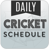 Live cricket schedule 2017 icon