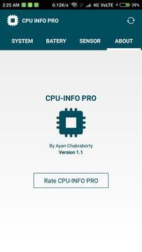 CPU INFO PRO screenshot 4