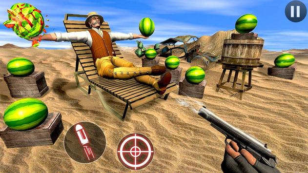 watermelon shooter free 3d fruit shooting game for android apk