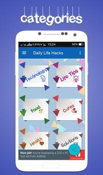 Daily Life Hacks poster