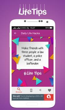 Daily Life Hacks screenshot 2