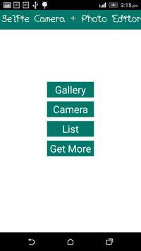 Selfie Camera + Photo Editor screenshot 2