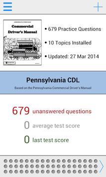 Pennsylvania CDL Test Prep poster