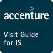 Accenture Visit Guide for IS icon