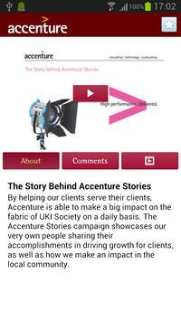 Accenture Stories screenshot 1
