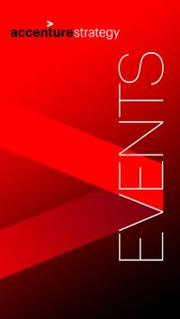 Accenture Strategy Events poster