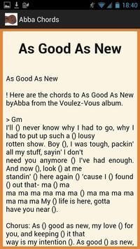 Accept Lyrics and Chords apk screenshot