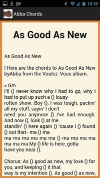 Accept Lyrics and Chords screenshot 1