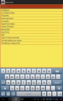 Accept Lyrics and Chords screenshot 2