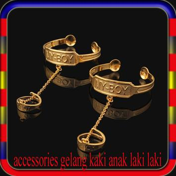 accessories gelang kaki anak laki laki screenshot 1