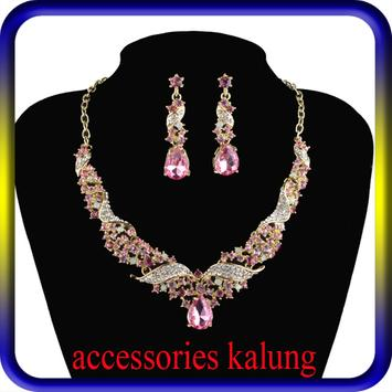 accessories kalung antik poster