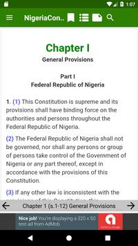 1999 Constitution of Nigeria screenshot 8