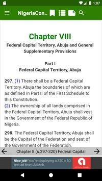 1999 Constitution of Nigeria screenshot 13