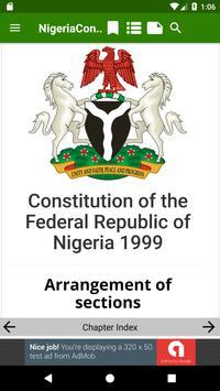 1999 Constitution of Nigeria apk screenshot