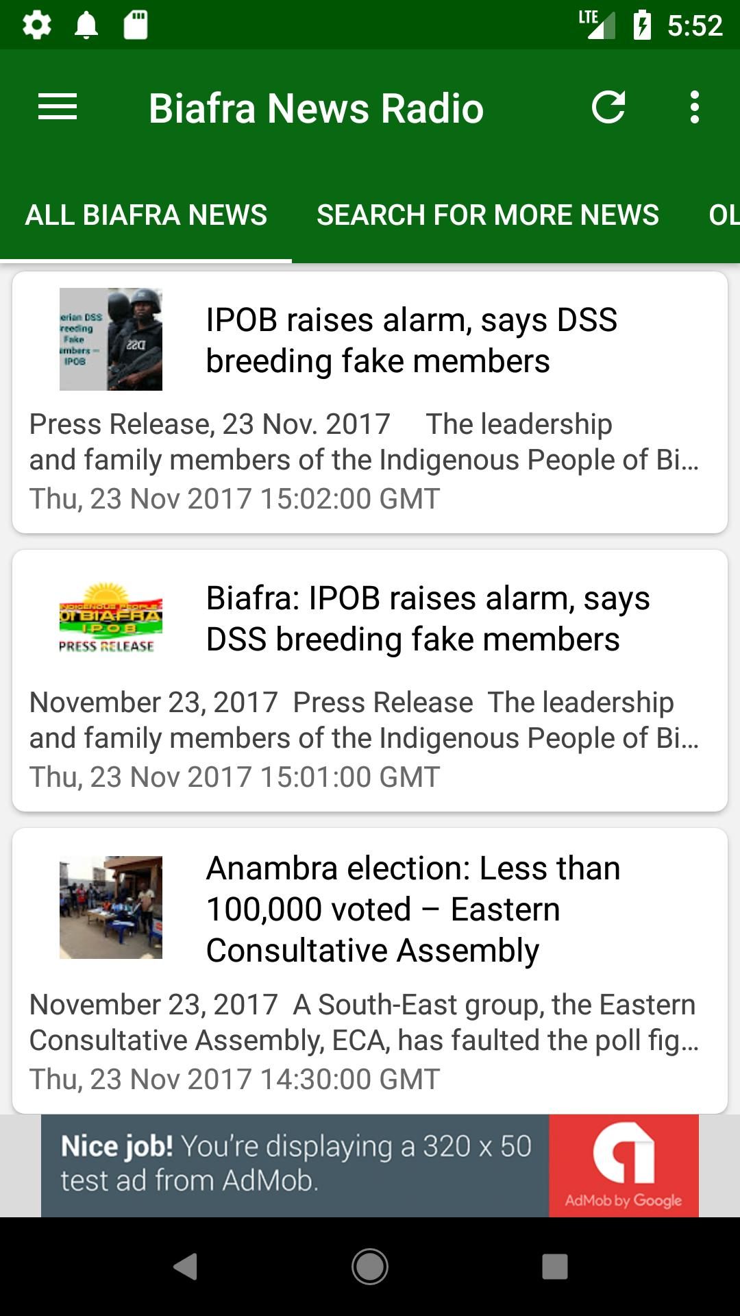 Biafra News: Radio, TV, News & Chat app for Android - APK