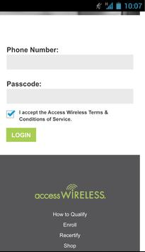 Access Wireless My Account poster