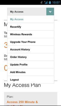 Access Wireless My Account apk screenshot