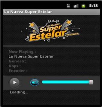 LA NUEVA SUPER ESTELAR poster