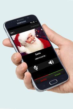 Fake Call Santa Joke screenshot 1